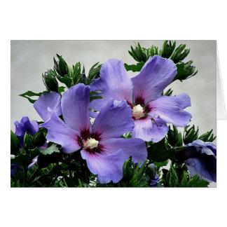 Cartão Flores cumprimento