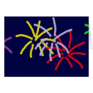Cartão Fogos de artifício