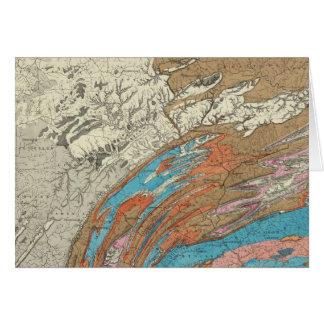 Cartão Formações geological de Penn