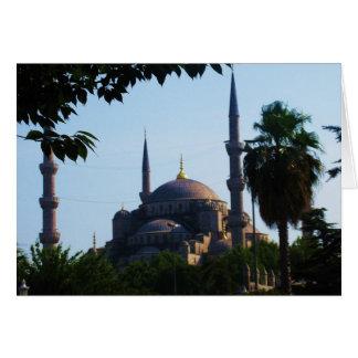 Cartão Foto de Hagia Sophia em Constantinople