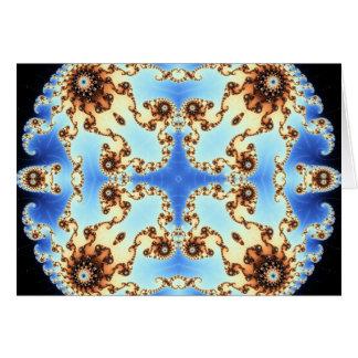 Cartão Fractal 650 do caleidoscópio