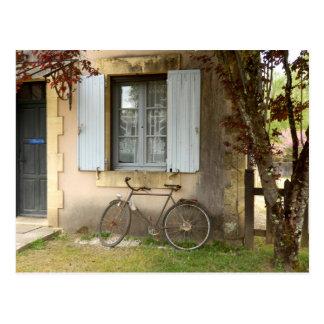 Cartão francês da casa