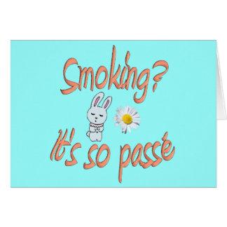 Cartão Fumo - é assim passé