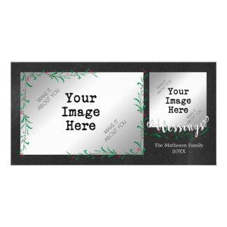 Cartão Ganhos 2-Photo da baga do azevinho