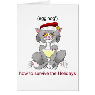 Cartão Gato da gemada