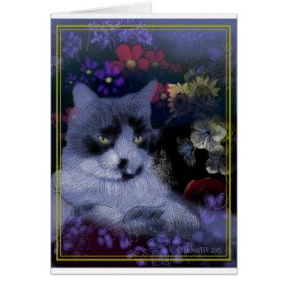 Cartão Gato de Toby