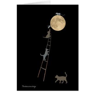 Cartão Gatos e ratos