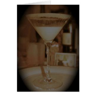Cartão Gemada Martini