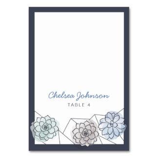 Cartão geométrico do lugar do casamento do