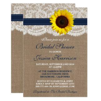 Cartão Girassol, serapilheira & chá de panela rústicos do
