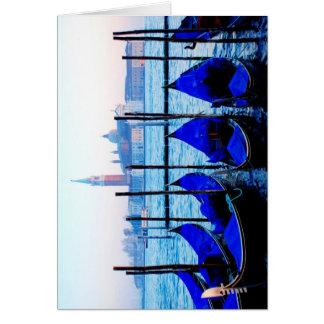 Cartão Gôndola Venetian