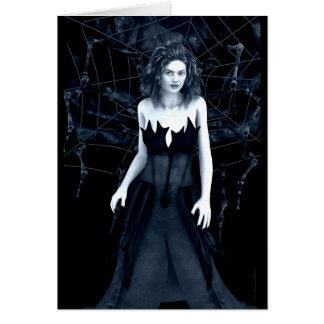 Cartão gótico da arte da mãe de antro