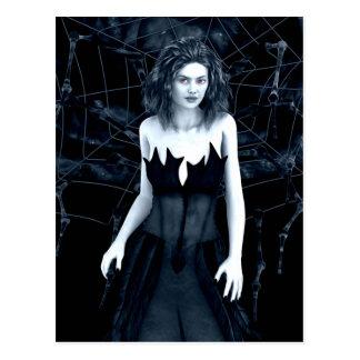 Cartão gótico da mãe de antro cartão postal