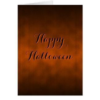 Cartão gótico de Ombre o Dia das Bruxas