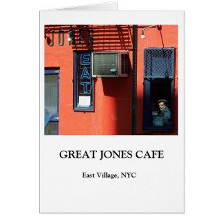 CARTÃO GRANDE CAFÉ DE JONES