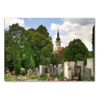 Cartão Grinzinger Friedhof, Wien Österreich