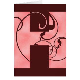 Cartão H inicial