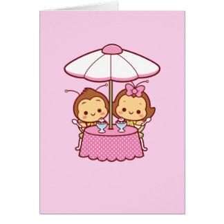 Cartão Hana & Hachi - sorvete