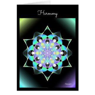 Cartão Harmonia