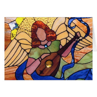 Cartão Harmonia angélico