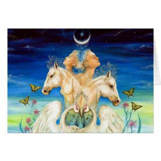 Cartão Harmonia do amor