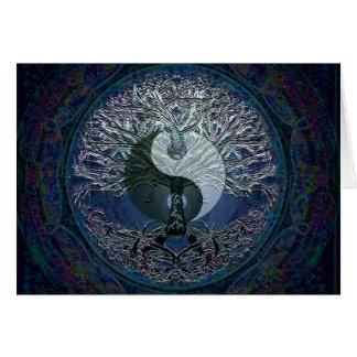 Cartão Harmonia, equilíbrio, tranquilidade