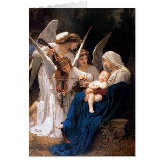 Cartão Hino do berço do Virgin