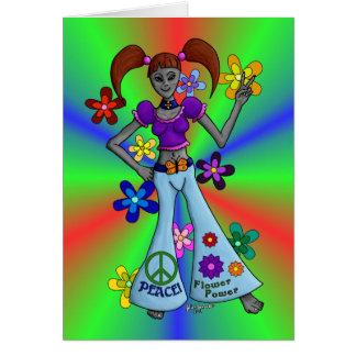 Cartão Hippy estrangeiro