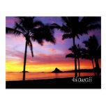 Cartão ideal de Havaí Cartões Postais