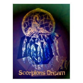 Cartão ideal dos escorpião