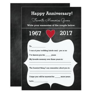 Cartão Ideias do partido do jogo | do aniversário do