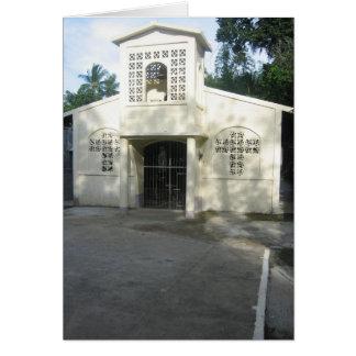 Cartão Igreja da vila