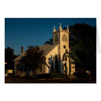 Cartão - igreja do país