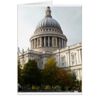 Cartão igreja em Londres