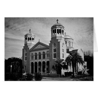 Cartão - igreja ortodoxa