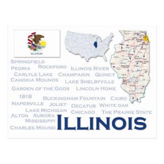 """Cartão """"Illinois """""""