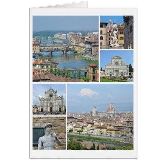 Cartão Imagens de Florença