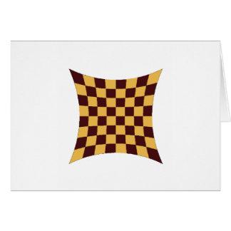 Cartão Imploded do conselho de xadrez