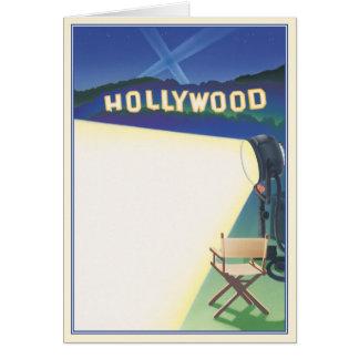Cartão © indo de Hollywood