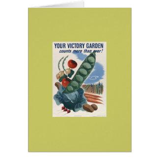 Cartão Jardim de vitória