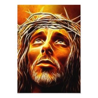 Cartão Jesus: Meu deus porque o tenha abandonado me