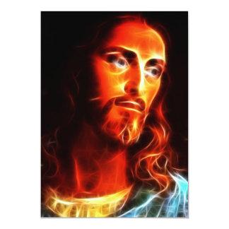 Cartão Jesus que pensa sobre você