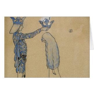 Cartão John Bauer - pnha então o príncipe uma coroa do