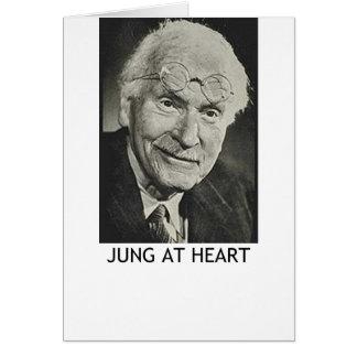 Cartão Jung no coração