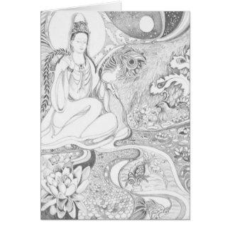 Cartão Kwan Yin