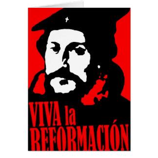 Cartão La Reformacion CALVIN de Viva