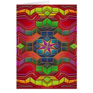 Cartão labirinto da mente