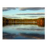 Cartão: Lagoa de Walden Cartão Postal
