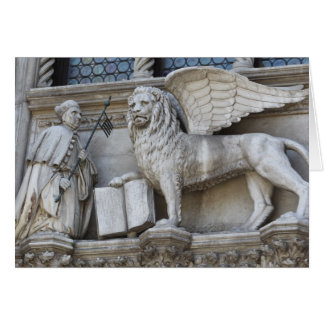 Cartão Leão de Veneza