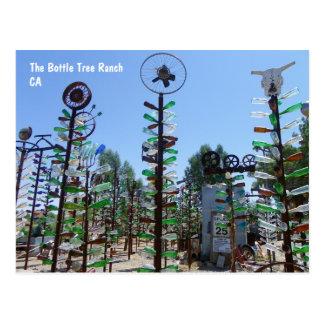 Cartão legal do rancho da árvore da garrafa!